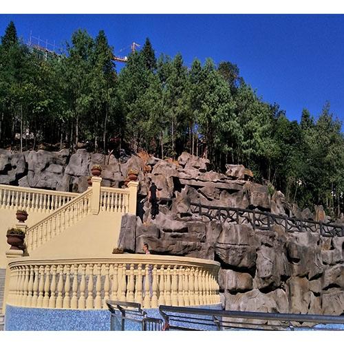 长青森林公园阶梯grc宝瓶栏杆